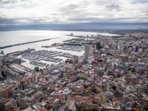 Alicante - widok naport