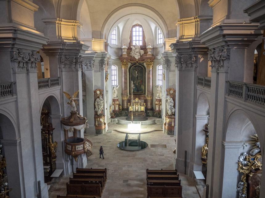 Kościół Pijarów Znalezienia Krzyża Świętego, Litomyśl