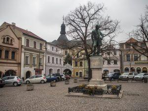 Główny rynek miasta - Plac Smetany, Litomyśl