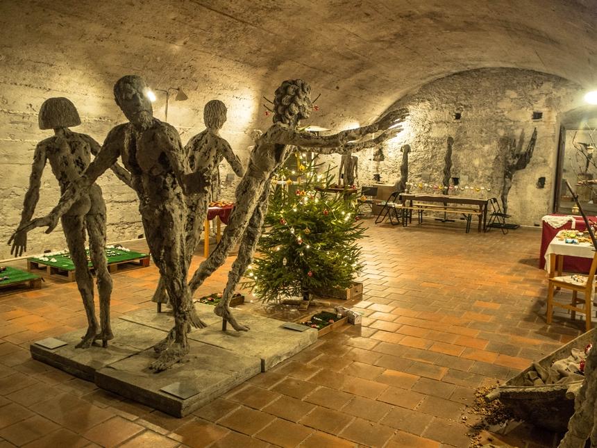 Wystawąa rzeźb Olbrama Zaubka, Litomyśl