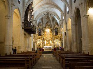 Wnętrze Bazyliki św. Marii (Basilica de Santa Maria), Alicante