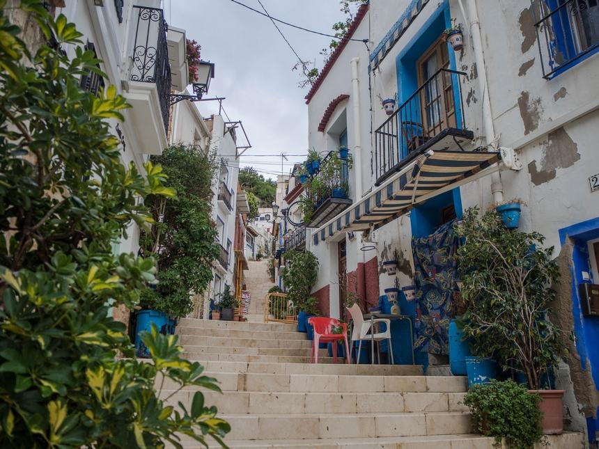 Białe domki wSanta Cruz, Alicante