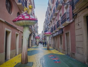 Mushroom Road, Alicante