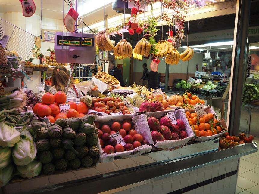 Owoce naMercado Central, Alicante