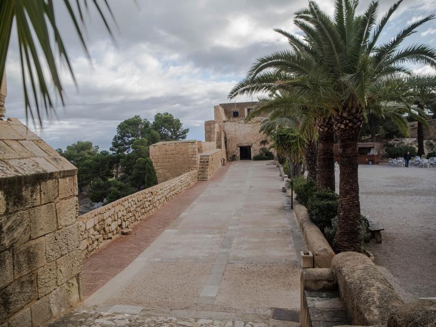 Poziom środkowy zamku św. Barbary, Alicante
