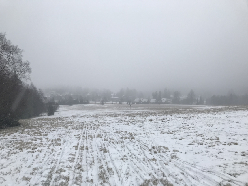 Przez polanę doKarłowa, Góry Stołowe