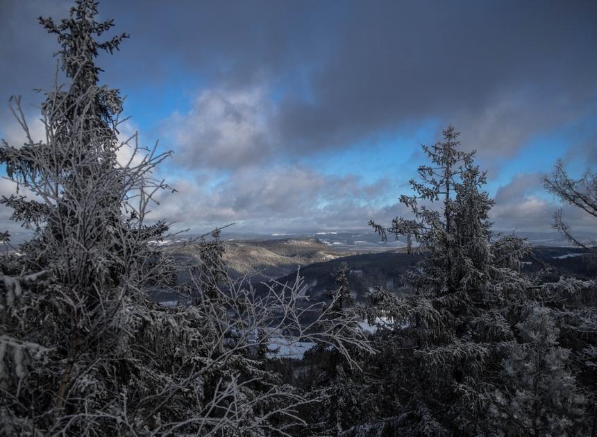 I jeszcze jeden widok nadoliny, Góry Stołowe