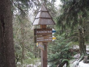 Rozdroże podSzczelińcem, Góry Stołowe