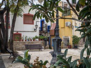 Skwer wSanta Cruz, Alicante