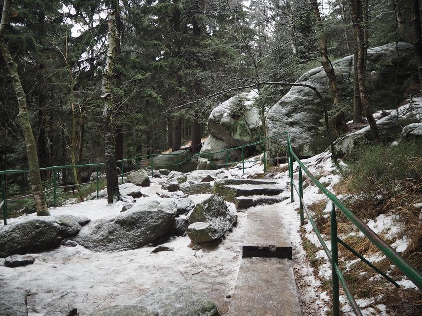 Góry Stołowe - wejście naSzczeliniec Wielki