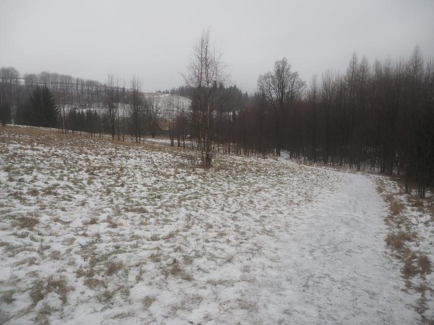 Szlakiem zielonym polaną, zPasterki doKarłowa