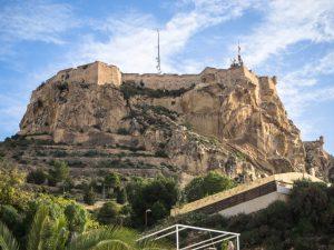 Castillo de Santa Barbara, Alicante