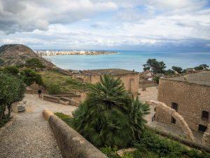 Zamek św. Barbary wAlicante to otwarte muzeum