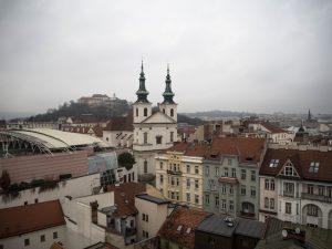 Brno - widok namiasto zWieży Ratuszowej