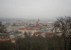 Krótka historia Brna - widok namiasto
