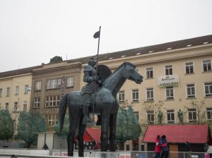 Pomnik Jodoka zMoraw, Brno
