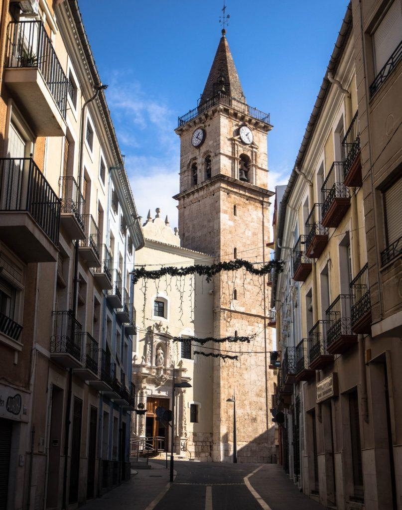 Kościół św. Marii (Iglesia de Santa Maria), Villena