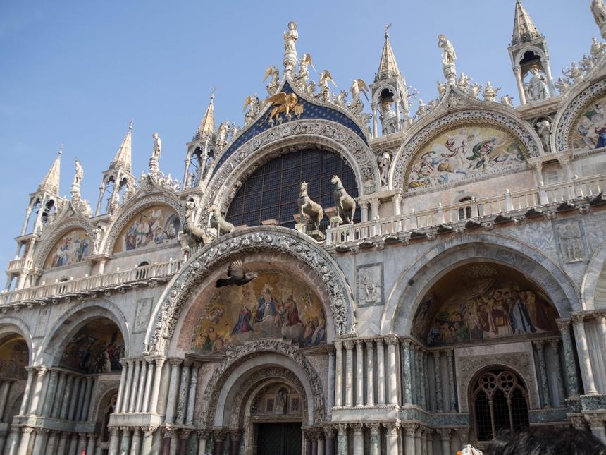 Fasada Bazyliki św. Marka, Wenecja