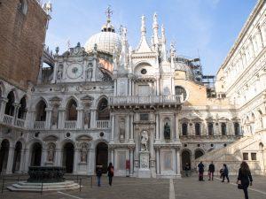 Dziedziniec wPałacu Dożów, Wenecja