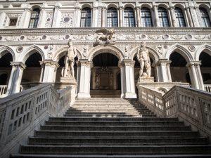 Scala dei Giganti (Schody Gigantów), Pałac Dożów