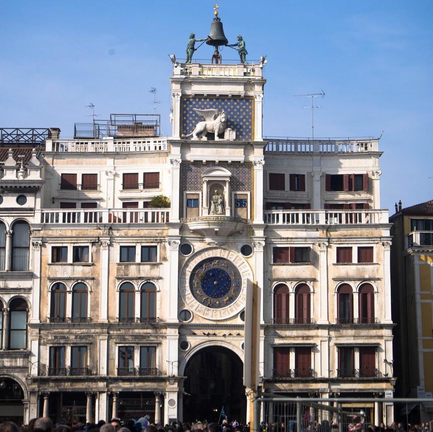 Wieża Zegarowa (Torre dell'Orologio), Wenecja