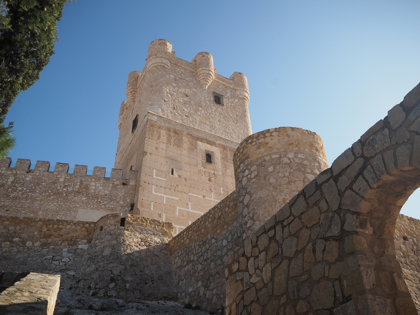 Zamek Atalaya, Villena