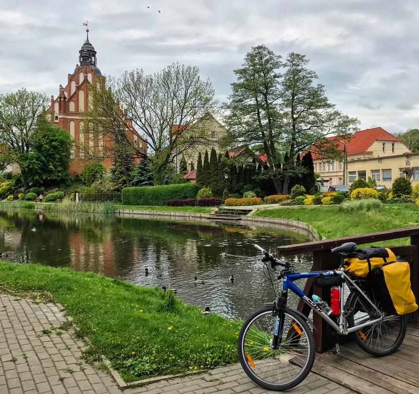 Barczewo - okolice stawu
