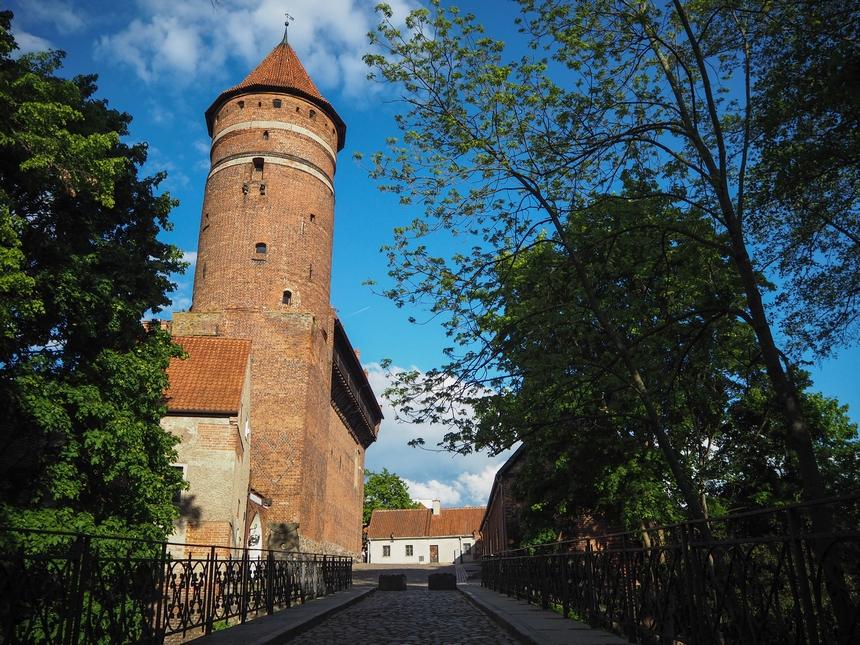 Zamek Kapituły Warmińskiej to jedno znajciekawszych miejsc wOlsztynie