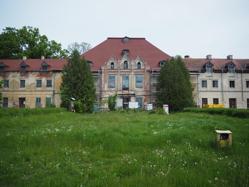 XVII-wieczny pałac wSztynorcie