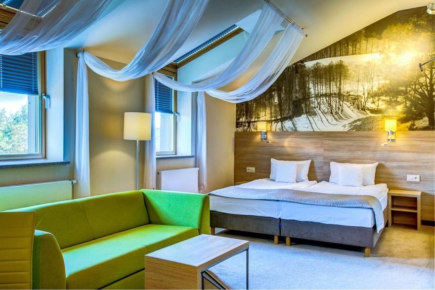 Pokój Double Classic - hotel Loft 1898 Suwałki