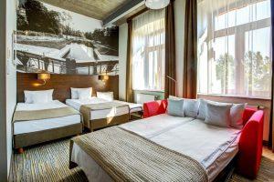 Pokój rodzinny hotel Loft 1898 Suwałki