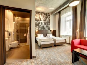Pokój Superior - hotel Loft 1898 Suwałki