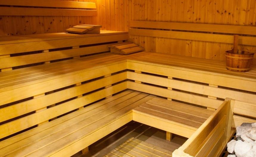 Sauna whotelu Loft 1898 Suwałki
