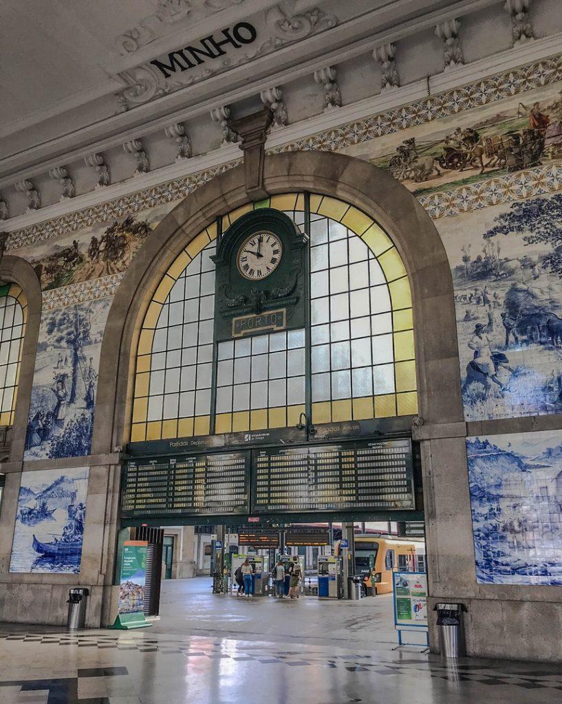 Dworzec kolejowy św. Benedykta (Sao Bento), Porto