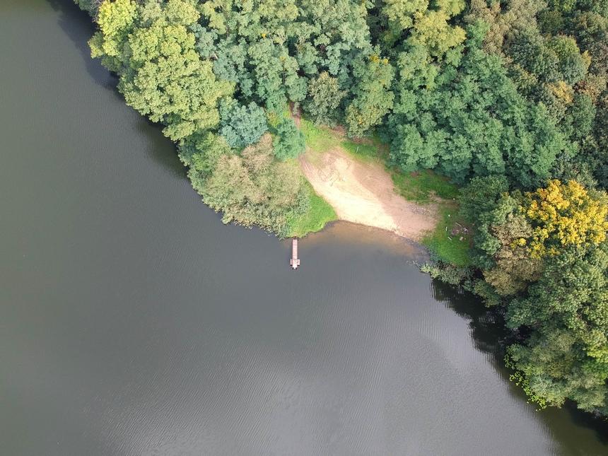 Jezioro Koleńskie naSzlaku Stu Jezior