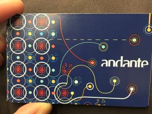 Karta Andante Azul, Porto
