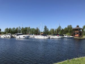 Port jachtowy wWęgorzewie