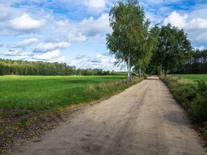 Szlak rowerowy między Chalinem aPrusinem
