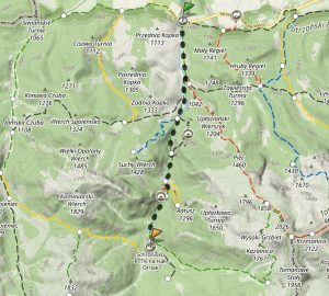 Dolina Kościeliska - szlak zKir doschroniska naHali Ornak
