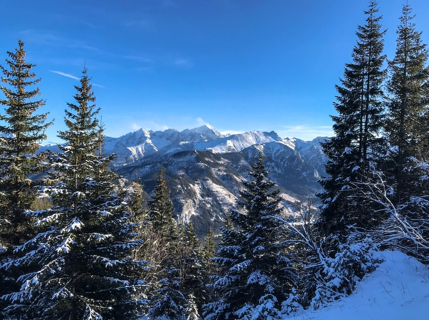 5 zimowych tras w Tatrach dla każdego