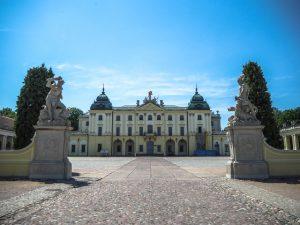 Brama naDziedziniec Paradny - Pałac Branickich, Białystok