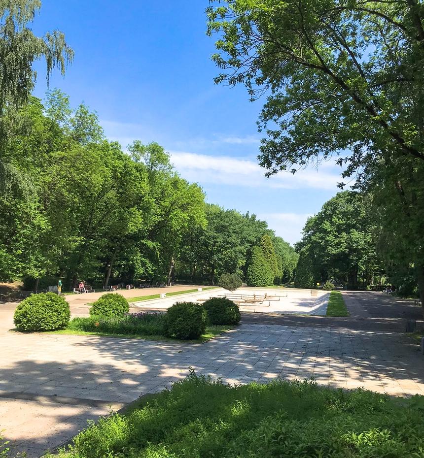 Park Miejski Plany wBiałymstoku
