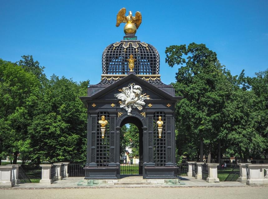 Pawilon podOrłem, Ogrody Branickich, Białystok