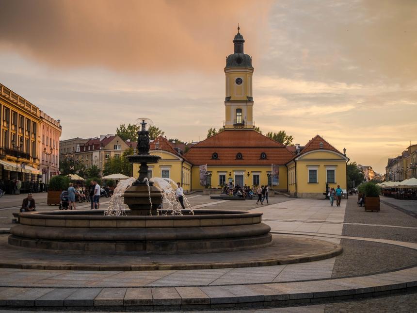 Rynek Kościuszki wBiałymstoku