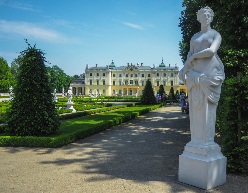 Salon Ogrodowy - Pałac Branickich