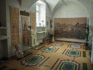 Wnętrza Pałacowe wPałacu Branickich - Muzeum Farmacji