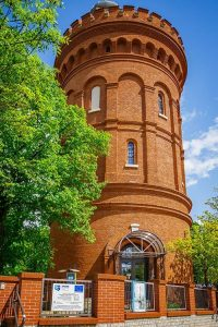 Wieża ciśnień iobserwatorium astronomiczne - Olsztyn