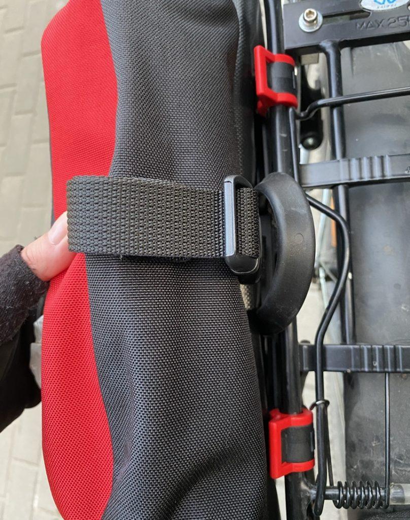 Montaż sakw rowerowych Extrawheel