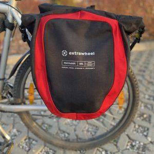Test sakw rowerowych od Extrawheel
