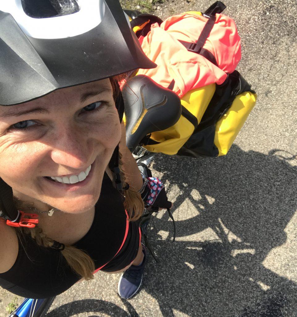 Zdjęcie zwyprawy rowerowej szlakiem Green Velo